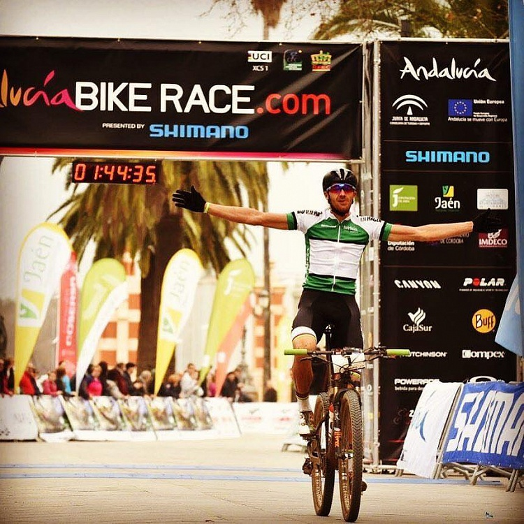 Tiago Ferreira wins the Andalucia Bike Race