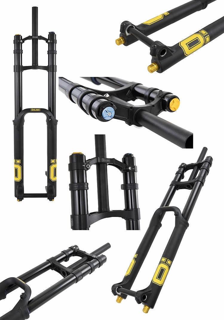 Nuova forcella Ohlins DH RACE fork