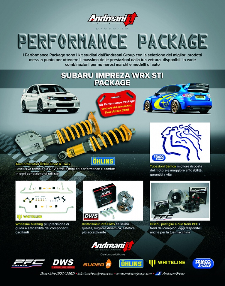Performance Package by Andreani