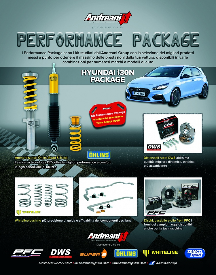 Performance Package by Andreani per Hyundai i 30N