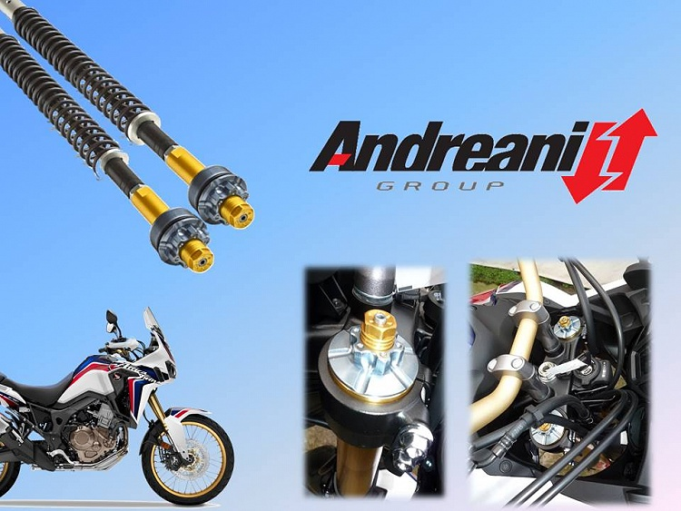 New Andreani cartridge for Honda Africa Twin CRF 1000L 2016