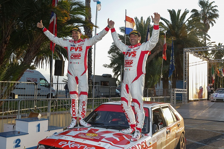 Italian Rally Championship stage of San Remo report