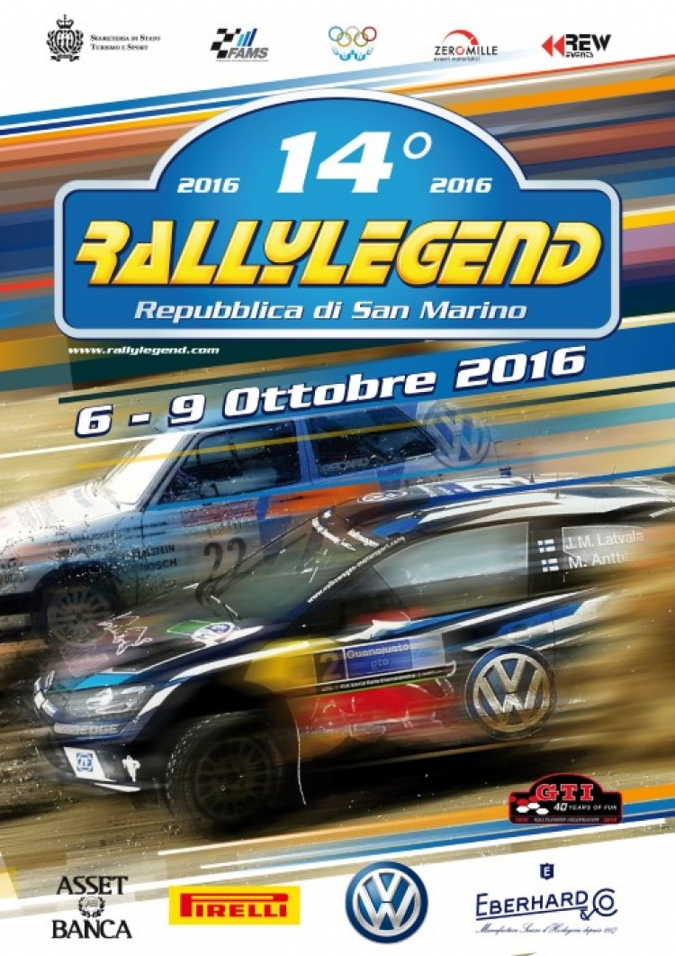 Andreani Group Presente al 14° Rally Legend