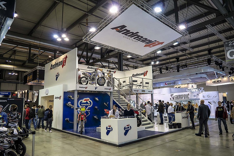 GREAT ATTENDANCE AT EICMA 2015